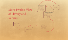 Mark Twain's View of Slavery and Racism