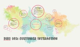 Logistics DISC 102: Customer Interaction