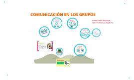 COMUNICACIÓN EN LOS GRUPOS