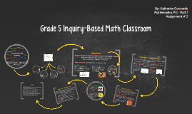 Grade 5 Inquiry-Based Math Classroom