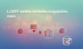 Copy of LiJOT veikla birželio-rugpjūčio mėn.