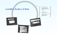 Learning is Business at Nokia