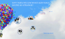 WHY DOES HELIUM MAKE OUR VOICE