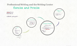 WC Presentation: Precise and Concise