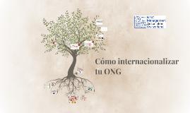 Cómo internacionalizar tu ONG