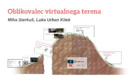 Oblikovalec 3D virtualnega terena
