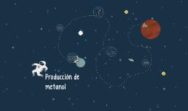 Producción de metanol