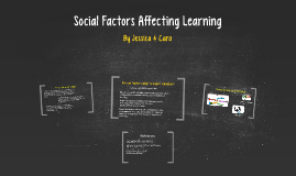 Social Factors Affecting Learning