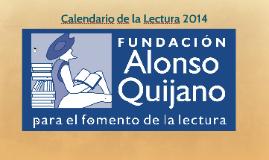 Calendario de la Lectura 2014