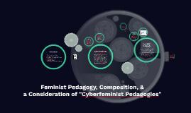 ENG 598 Cyberfeminism