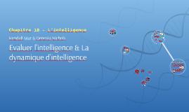 Chapitre 10 - L'intelligence