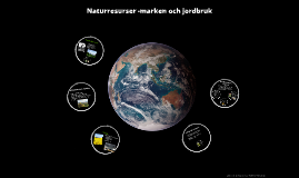Naturresurser marken och markanvändning