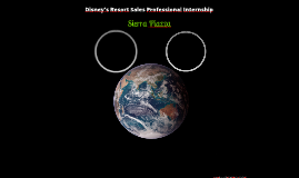 Disney's Resort Sales Professonal Internship Presentation