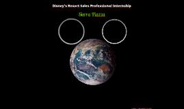 Disney's Resort Sales Professonal Internship Presentation