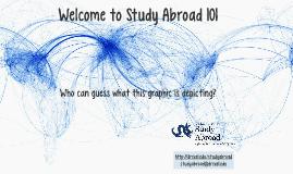 Study Abroad 101 - 2017