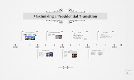 Maximizing a Presidential Transition
