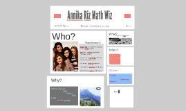 Annika Riz Math Wiz