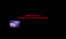Copy of linea de tiempo de la electricidad y magnetismo