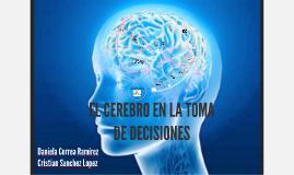 El Cerebro y la Toma de Decisones