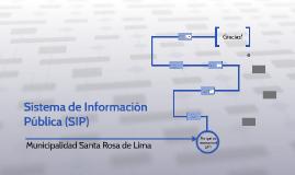 Sistema de Informaciòn Pùblica