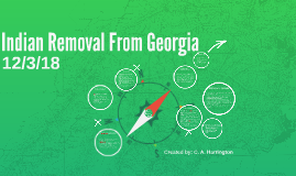 Indian Removal From Georgia