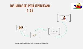 INICIOS DE LA REPÚBLICA
