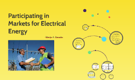 Participating in Markets for Electrical Energy