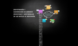 identificación y participación en acciones educativas y asis