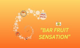 Bar Fruit Sensation Merca