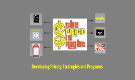 Pricing strateges