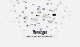 Copy of Monologue