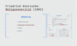 Religionskritik Nietzsche