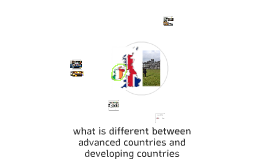 What is the different between advanced country and developin