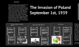 How did the Invasion of Poland change the world