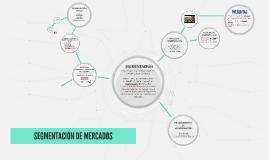 SEGMENTACIÓN DE MERCADOS