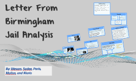 letter from birmingham jail analysis letter from birmingham analysis by wesam on prezi 39855
