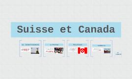 Suisse et Canada