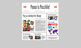 Peace is Possible Campaign!