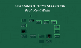 Listening and Topic Selection (4,5)