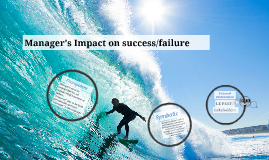 Manager's Impact on success/failure
