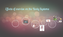 1.1 Unit 18: Effects of exercise on the body systems - Introduction