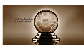 JSA Burd Institute Student Project