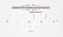 Automated Teller Machine and Cash Dispenser