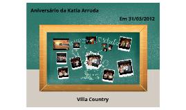 Aniversário da Katia