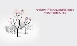 Copy of MANUALES DE ORGANIZACION Y PROCEDIMIENTOS