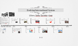 The Evolving International System