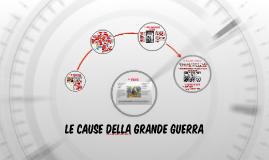 Copy of Le cause della Grande Guerra