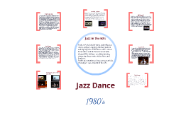 Jazz dance (1980's)