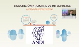 ASOCIACIÓN NACIONAL DE INTERPRETES