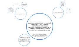 SOLUCIÓN DE PROBLEMA DEDECISIÓN DE PROMOCIONES VÁLIDAS REDI